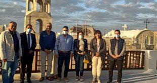 60 مشاركاً فى موكب الدراجات الهوائية لتنشيط السياحة بطريق الصعيد الصحراوي