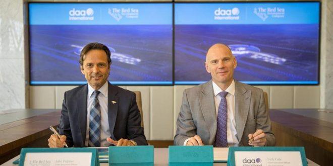 البحر الأحمر للتطوير تعين شركة daa العالمية كمشغل للمطار وإدارة المرافق