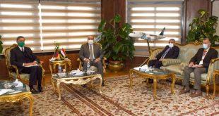 تحرك مصري قوى لإعادة السياحة الألمانية.. منار يبحث مع السفير زيادة الرحلات