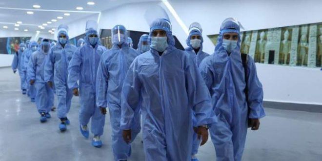 تقديم الخدمة الطبية لـ 806 من المشاركين بفنادق إقامة وفود كأس العالم لليد4