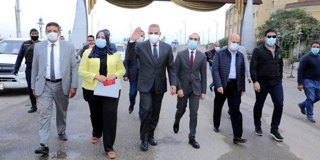 محافظ سوهاج يفتتح نفق الشهيد اللواء نبيل فراج ويتفقد أعمال تطوير الحي