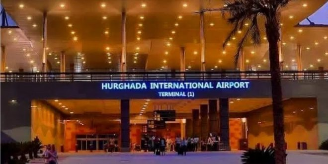 مطار الغردقة يحصل علي شهادة الاعتماد الصحي من المجلس الدولي للمطارات