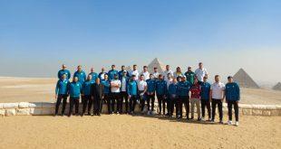 منطقة آثار الهرم تستقبل منتخبات كرة اليد المشاركة في بطولة العالم