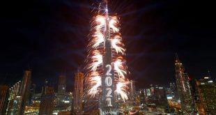 مهرجان الشيخ زايد يحطم رقمين قياسيين للإمارات في الألعاب النارية