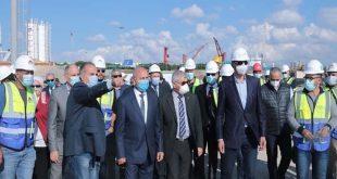 الوزير يتفقد مشروعات ميناء الإسكندرية ويستعرض تنفيذ المحطة متعددة الأغراض
