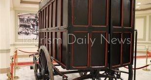 مركبة أثرية لنقل المواد البريدية
