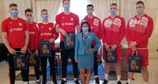 السياحة توزع هدايا تذكارية دعائية لمصر على الفرق المشاركة بكأس العالم لليد