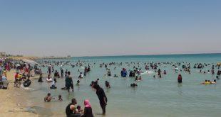 السويس تبدأ تنفيذ أول شاطئ شعبي مجاني للمواطنين يطل على الخليج
