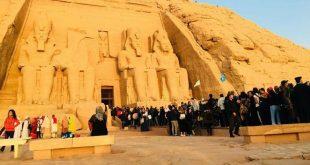 تعامد الشمس على معبد رمسيس الثاني .. ظاهرة تكشف عظمة المصريين