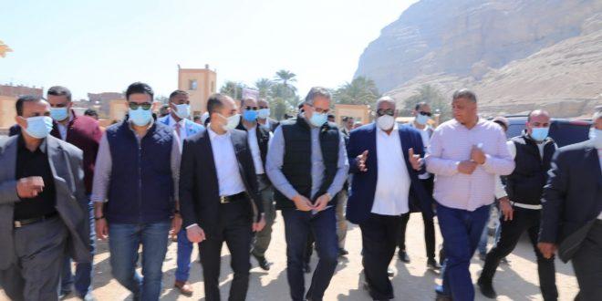 تفاصيل افتتاح وزير السياحة والآثار تطوير منطقة أتريبس الأثرية بالشيخ حمد