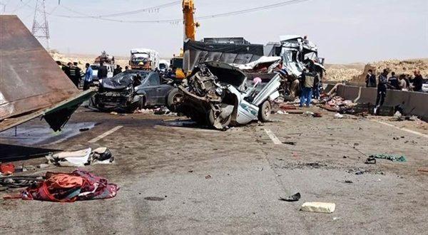 حادث مروري مأساوى .. مصرع 32 شخصاً فى تصادم 5 مركبات فى أوغندا