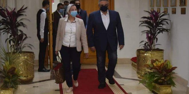 وزيرة البيئة ومحافظ البحر الأحمر