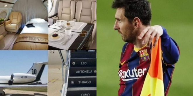 رئيس الأرجنتين يستأجر طائرة ميسي الخاصة في زيارته للمكسيك
