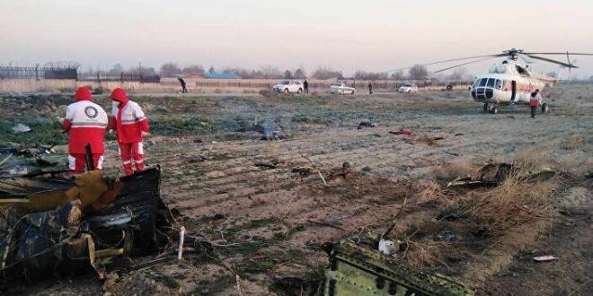 أوكرانيا تتهم ايران بالتحيز بسبب التقرير الفني لأسباب تحطم طائرة الركاب