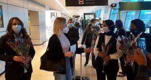الغردقة تستقبل أولى رحلات لوفتهانزا من فرانكفورت وطائرتان من بولندا لشرم