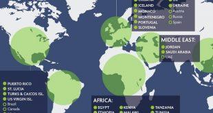 المجلس العالمي للسفر يكشف عن 250 وجهة سياحية أمنة خول العالم ويضيف إثيوبيا