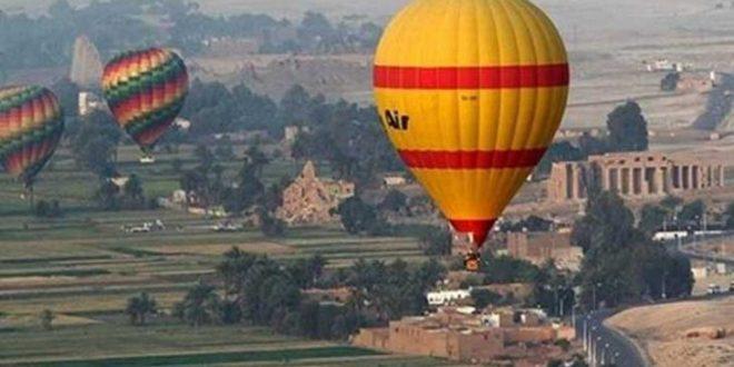 انطلاق 60 رحلة بالون طائر فى الأقصر تعيد الحيوية للسياحة في الصعيد