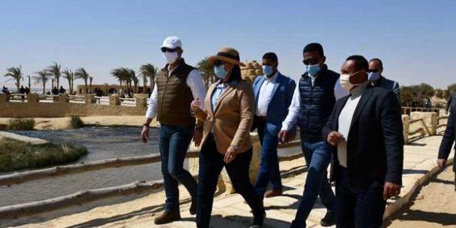 تفاصيل زيارة غادة شلبي للفيوم .. تنسيق مع السياحة لتنشيط الحركة للمحافظة
