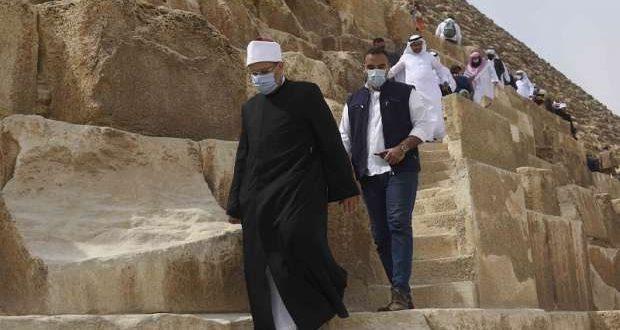 ماذا فعل أئمة 40 دولة إسلامية خلال جولتهم بمنطة أهرامات الجيزة ؟