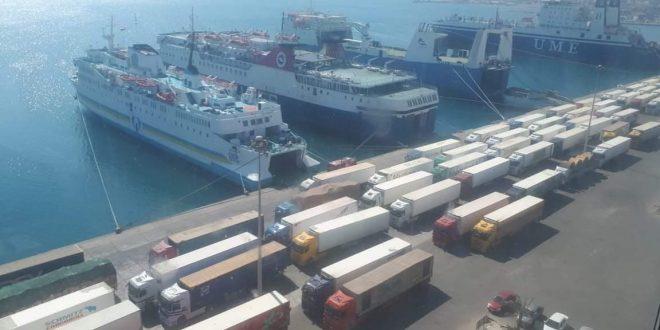 موانئ البحر الاحمر تكشف عن تداول 43 ألف طن بضائع .. اليوم