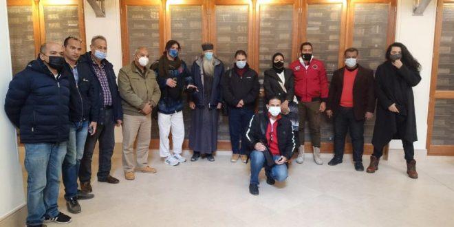 هيئة تنشيط السياحة تنظم رحلة لعدد من المؤثرين بمنصات التواصل في جنوب سيناء