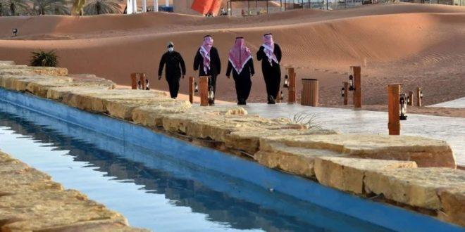 واحة الرياض سياحة الأثرياء فقط بالسعودية بعيده عن كورونا