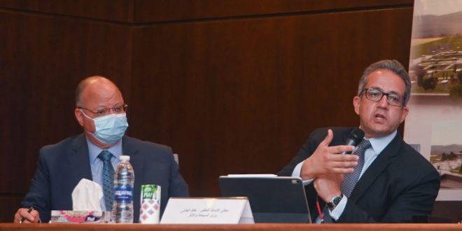 وزير السياحة يتابع تجهيزات موكب المومياوات الملكية استعدادا لانطلاقه السبت