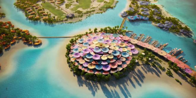 """""""الجزيرة الشريرة"""" بوابة السعودية السياحية في مشروع البحر الأحمر"""