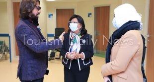 مصمم الأزياء هاني البحيري يزور مستشفى الناس لدعم علاج الأطفال مجاناً.. صور4