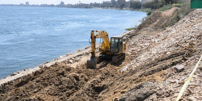 8 ملايين جنيه لتطوير 120 مترا بالمرسى السياحى على كورنيش النيل بنجع حمادى2