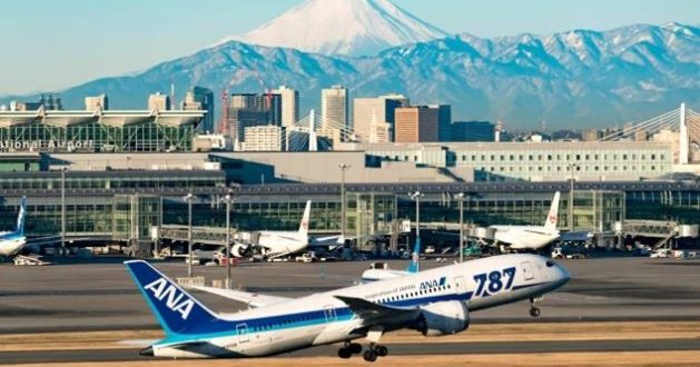 ANA شركة الطيران اليابانية تختبر أول جواز سفر لكوفيد بتطبيق إلكتروني