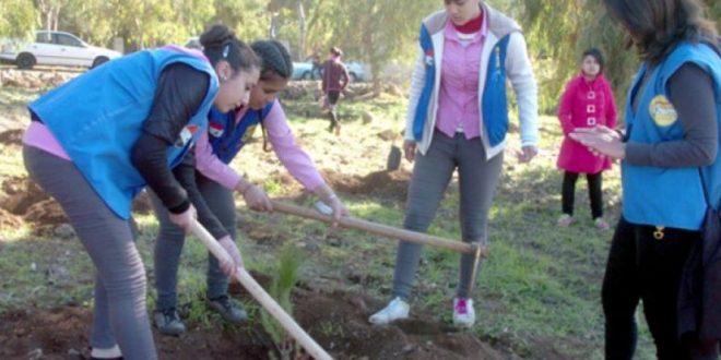 وكالات السياحة والسفر الجزائرية تشارك فى حملات التنظيف والتشجير