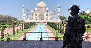سلطات الهند تجلي ألف سائح من ضريح تاج محل بسبب تهديدات بوقوع تفجيرات