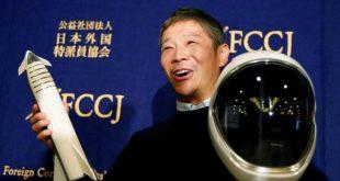 ملياردير ياباني يبحث عن 8 مرافقين في رحلة سياحية إلى القمر