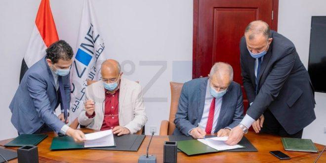 اقتصادية قناة السويس وهيئة الطرق والكباري يوقعان عقد تطوير ميناء السخنة