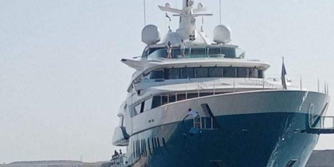 اليخت السياحي شروق الشمس يصل لميناء شرم الشيخ