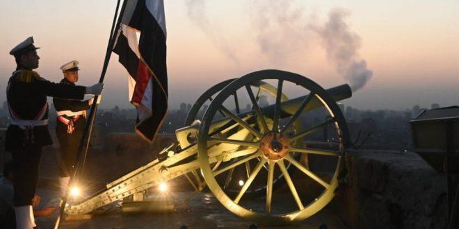 انطلاق جديد لمدفع رمضان من قلعة صلاح الدين بالقاهرة لأول مرة منذ عام 1992
