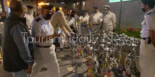 حملة علي المقاهي والكافتيريات بالقاهرة الجديدة وإزالة التعديات في 6 أكتوبر