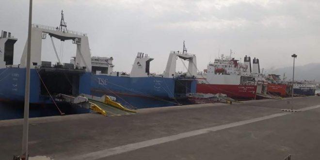 موانئ البحر الاحمر تكشف عن تداول 71 ألف و500 طن ووصول 4 سفن