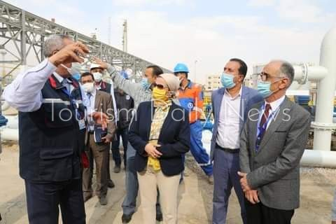 وزيرة البيئة تتابع أزمة صرف شركات البترول بجنوب سيناء وتأثيره على السياحة
