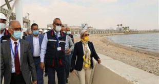 وزيرة البيئة تتابع أزمة صرف شركات البترول بجنوب سيناء وتأثيره على السياحة1