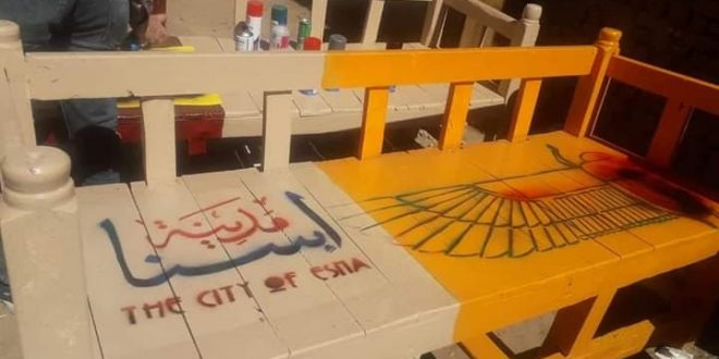 15 دكة تحول شوارع إسنا لمنطقة سياحية من طراز رفيع