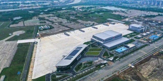 تدشين أول مركز لإنتاج واختبار الطائرات الكبيرة فى الصين