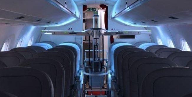 سويسرا تختبرروبوتا مزودا بأشعة فوق بنفسجية قاتلة للفيروسات على طائراتها