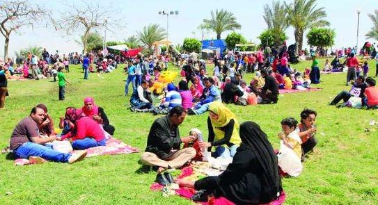 إغلاق جميع الحدائق والمتنزهات والشواطىء بالمدن الجديدة بإجازة شم النسيم