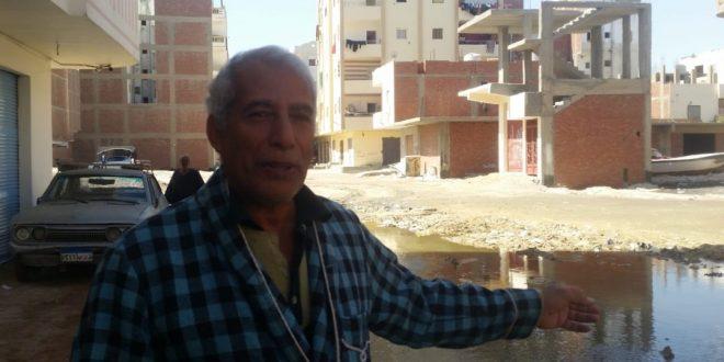 سكان ناصر والسنتر الليبي يصرخون مياه الصرف طفحت وتهدد المدينة السياحية
