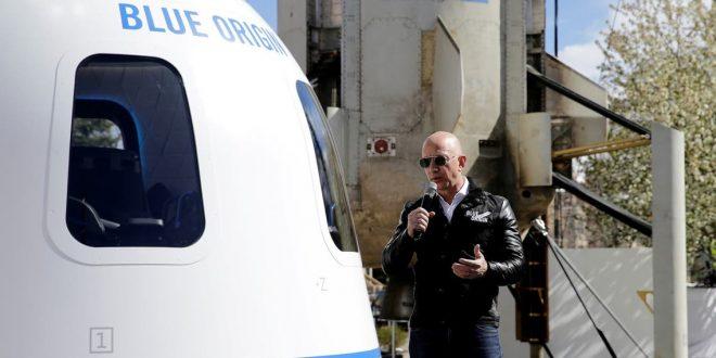 بلو أوريجن تجري مزاداً للفوز بمقعد على متن صاروخ للفضاء