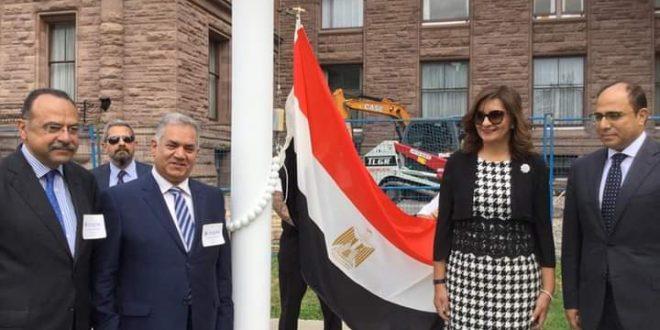 وزيرة الهجرة تكشف رعاية رئيس مجلس الوزراء لشهر التراث المصري بكندا 2021