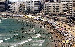 السياحة والمصايف بالإسكندرية توزع أكياس قمامة مجانا على جمهور الشواطئ