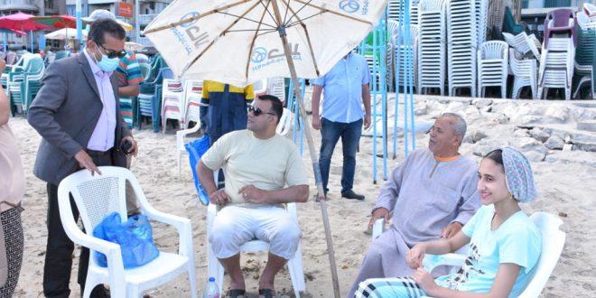 عودة قوية للشواطئ في الإسكندرية .. والسياحة تراقب الخدمات وإجراءات السلامة